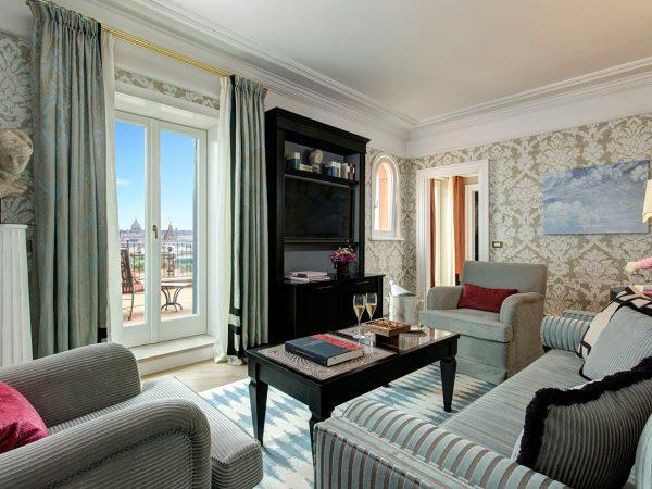 Hotel De La Ville Rome Canova Suite