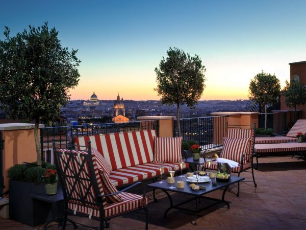 Hotel De La Ville Rome Suite de la Ville