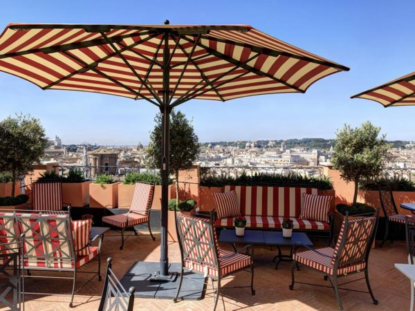 Hotel De La Ville Rome Cielo Bar