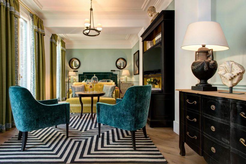 Hotel De La Ville Rome Grand Jr Suite w Terrace