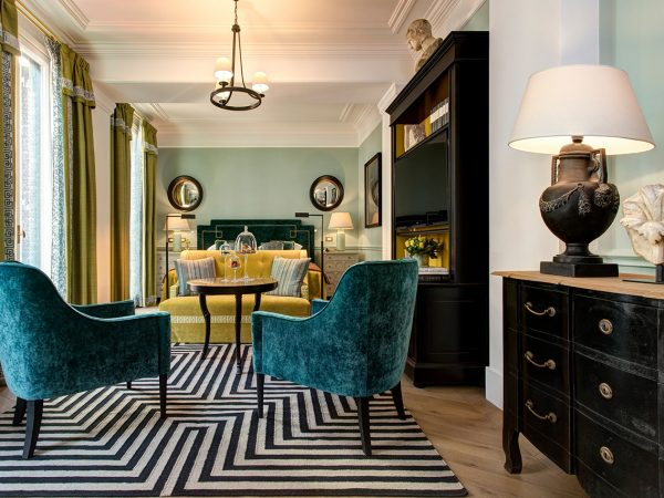Hotel De La Ville Rome Grand Junior Suite With Terrace