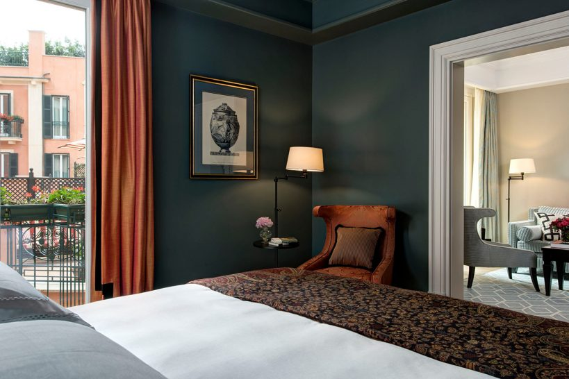 Hotel De La Ville Rome Grand Suite With Terrace