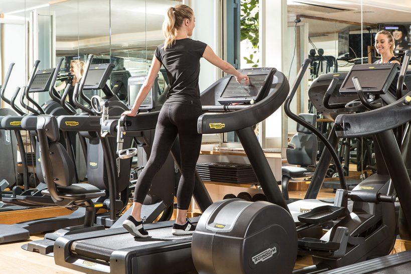 Hotel De La Ville Rome Gym