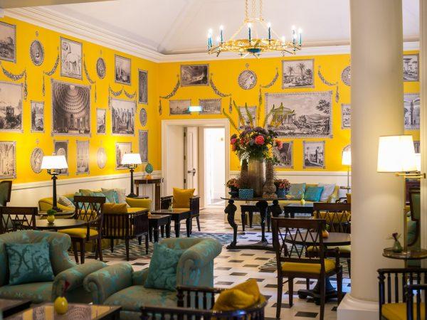 Hotel De La Ville Rome Julep Herbal and Vermouth Bar