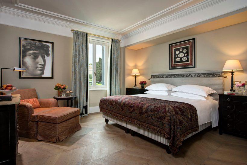 Hotel De La Ville Rome Roma Suite