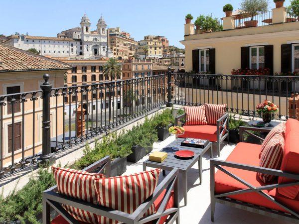 Hotel De La Ville Rome View