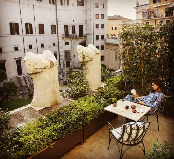 Hotel Vilon Rome Borghese Suite Terrace