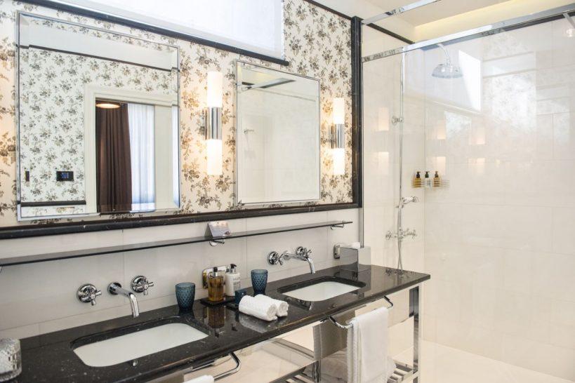 Hotel Vilon Rome Charming Bathroom