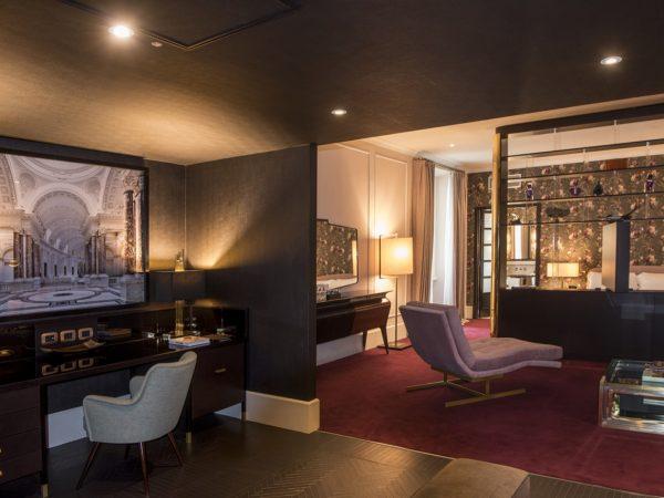 Hotel Vilon, Rome Interior View