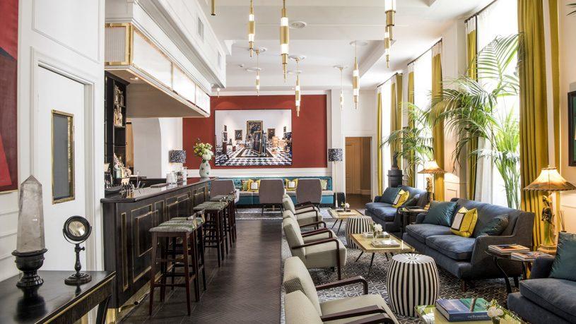 Hotel Vilon, Rome Lobby Bar