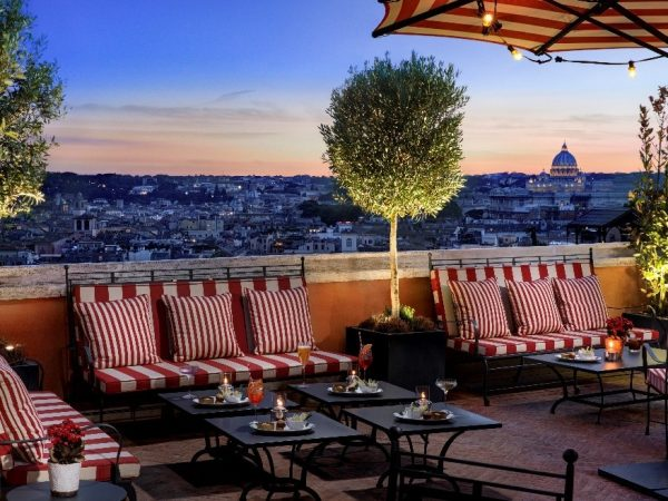 Hotel de la Ville Cielo Bar