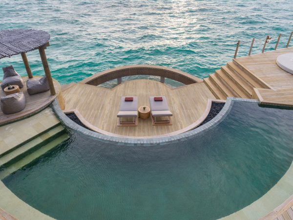 InterContinental Maldives Maamunagau Pool Sea View