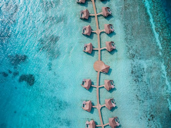 InterContinental Maldives Maamunagau Pool Villas (aerial view)