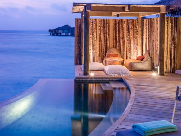 InterContinental Maldives Maamunagau Sunset Overwater Pool Villas