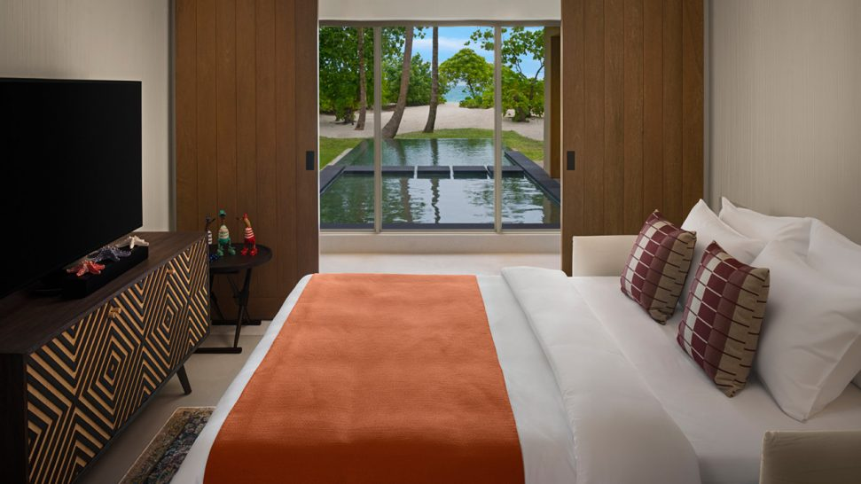 InterContinental Maldives Maamunagau Two Bedroom Family Beach Pool Villas