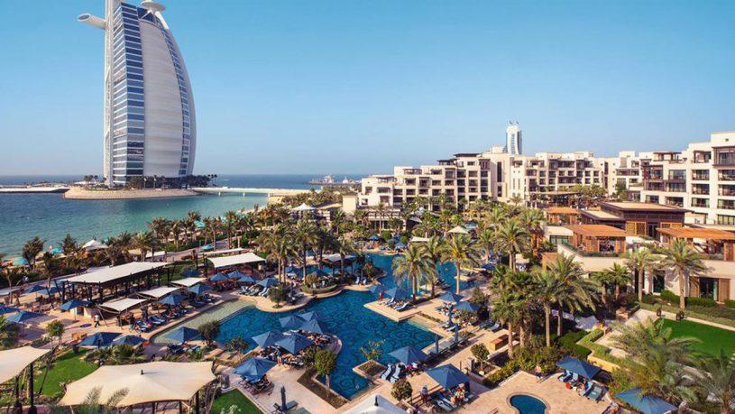Jumeirah Al Naseem Hotel View