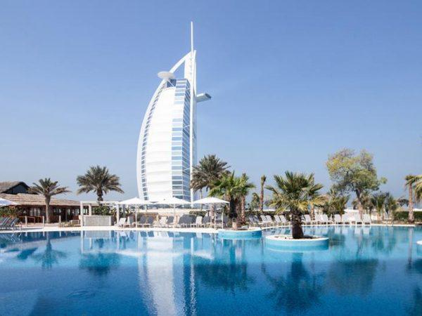 Jumeirah Beach Hotel Exterior View