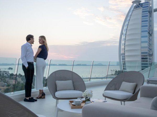 Jumeirah Beach Hotel Lobby View