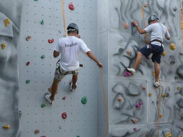 Jumeirah Beach Hotel Rock Wall Climbing