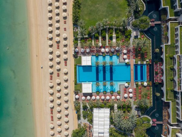 Jumeirah Zabeel Saray Top View