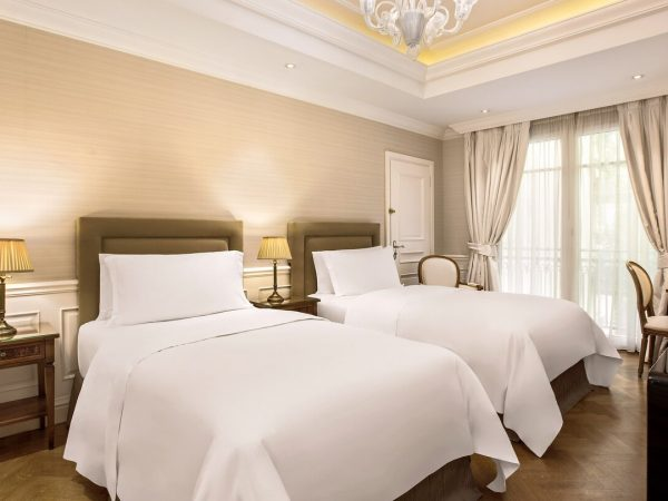 King George, a Luxury Collection Hotel, Athens Classic Guest room, 2 Twin Single Bed, Courtyard view