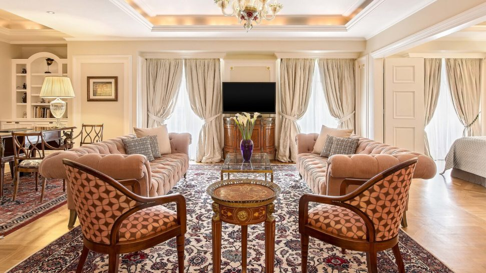 King George, a Luxury Collection Hotel, Athens Executive Acropolis Suite 1 Bedroom Suite, 1 King,