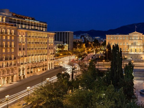 King George, a Luxury Collection Hotel, Athens Exterior View