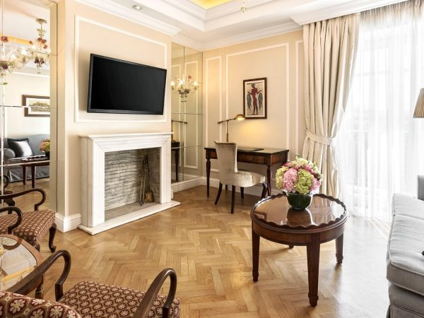 King George, a Luxury Collection Hotel, Athens Grand Acropolis Suite 1 Bedroom Suite, 1 King, City view
