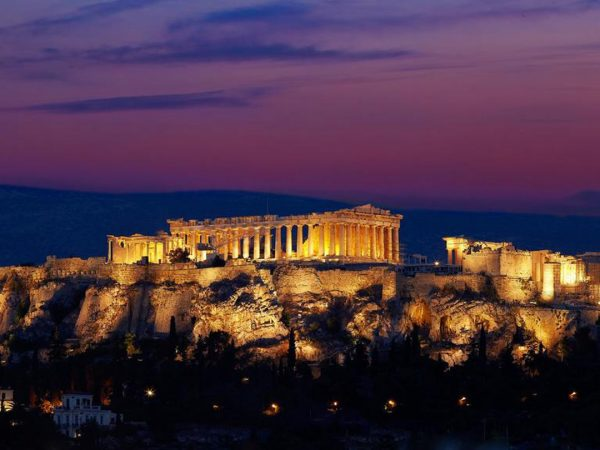 King George, a Luxury Collection Hotel, Athens Night View