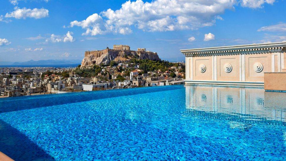 King George, a Luxury Collection Hotel, Athens Penthouse Suite 2 Bedroom Suite, Acropolis view, Private pool