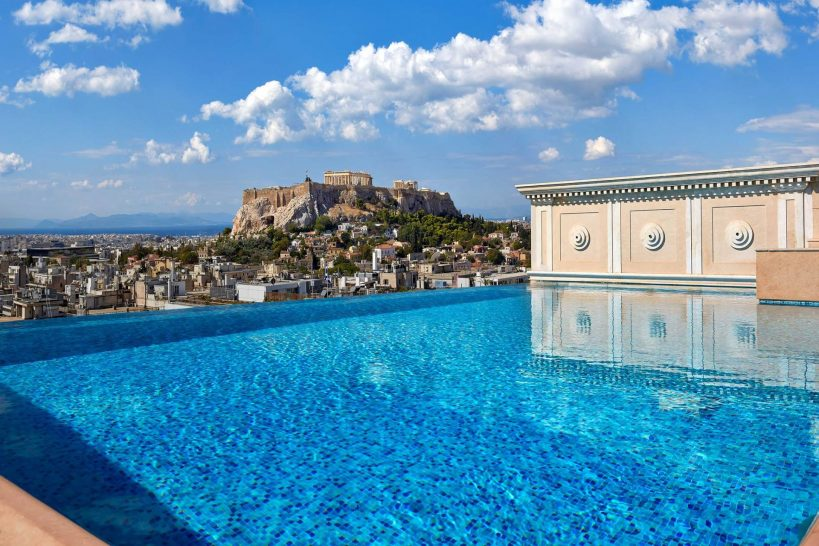 King George, a Luxury Collection Hotel Athens Pool