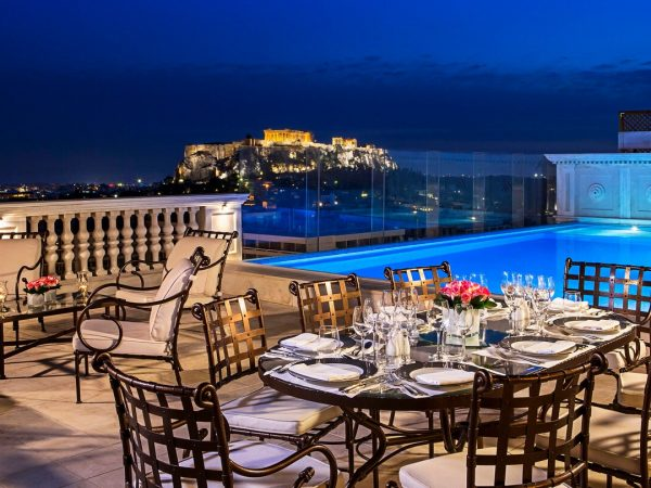 King George, a Luxury Collection Hotel, Athens Pool View