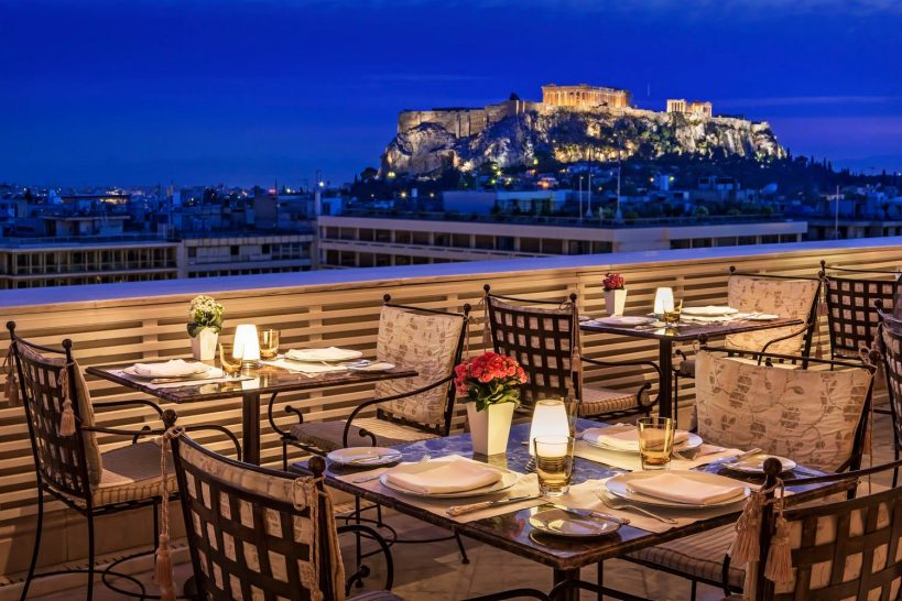 King George a Luxury Collection Hotel Athens Tudor Hall Restaurant
