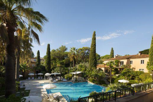 La Bastide de Saint Tropez Garden View