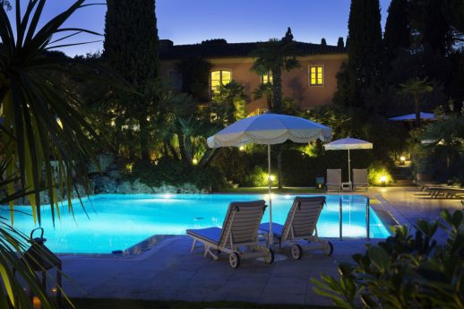 La Bastide de Saint Tropez Pool View