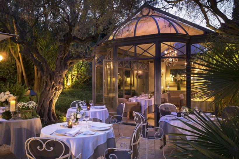 La Bastide de Saint Tropez Restaurant L'olivier, 1 Michelin Star