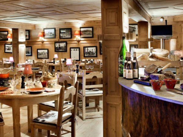 Les Fermes de Marie Le restaurant Alpin