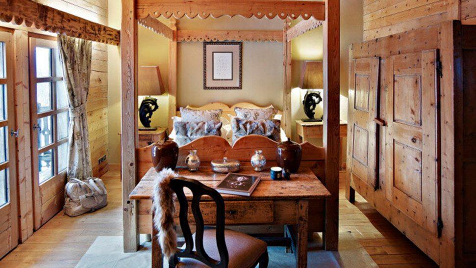 Les Fermes de Marie The Master bedroom