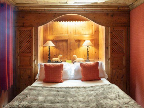 Les Fermes de Marie The orange room