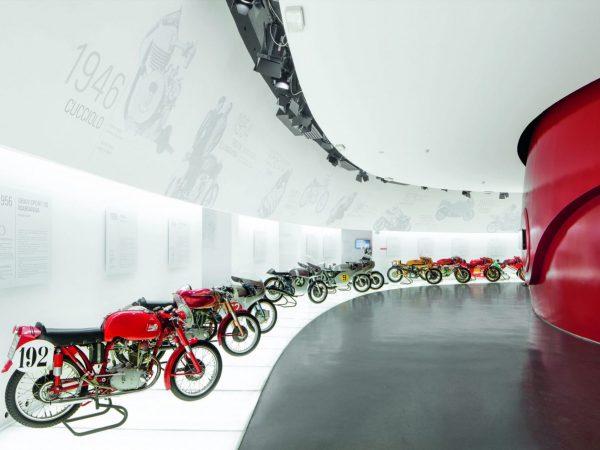 Museo Ducati Pista Entrance