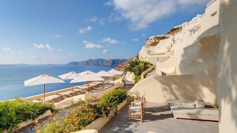 Mystique, a Luxury Collection Hotel, Santorini Exterior View