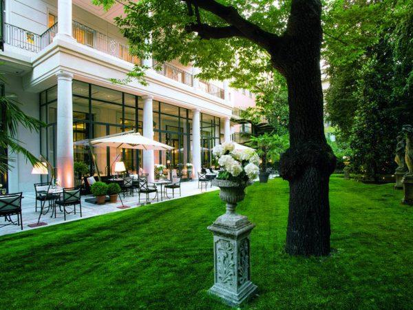 Palazzo Parigi Hotel & Grand Spa Milano Garden View