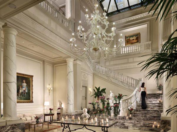 Palazzo Parigi Hotel & Grand Spa Milano Lobby View