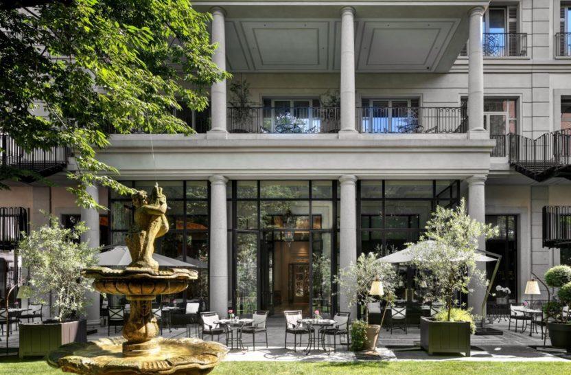 Palazzo Parigi Hotel & Grand Spa Milano Palazzo Parigi Private Garden