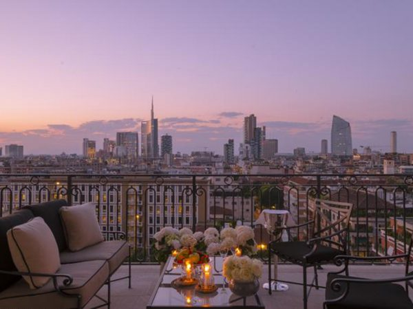 Palazzo Parigi Hotel & Grand Spa Milano Sunset View