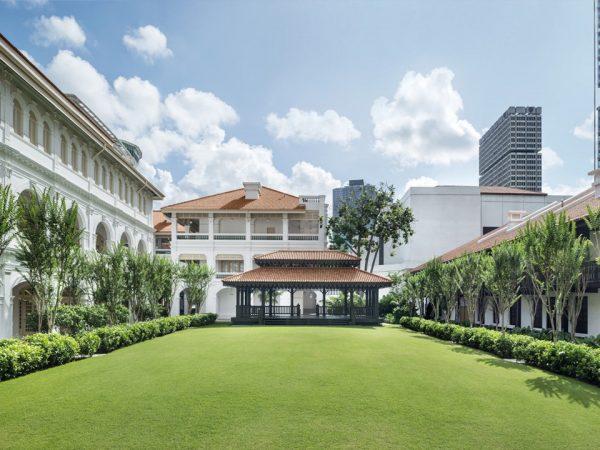 Raffles Hotel Garden View