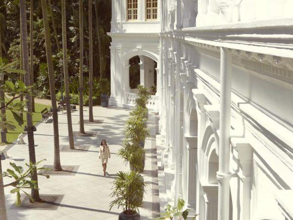 Raffles Hotel Lobby View