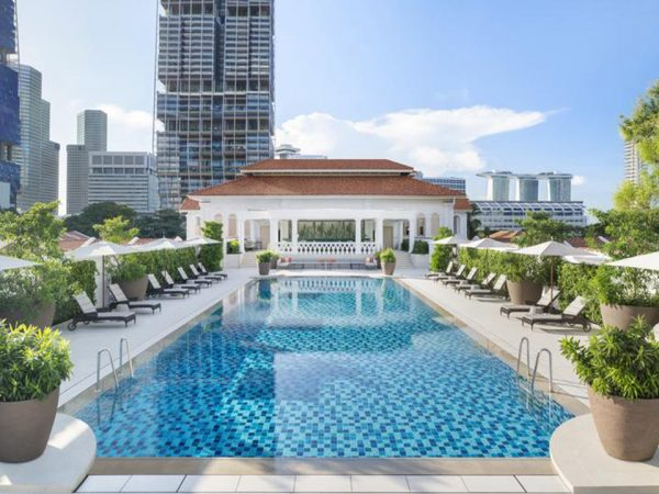 Raffles Hotel Pool