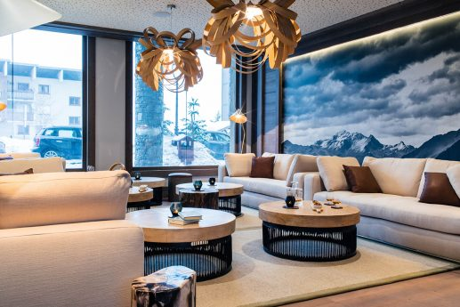 Six Senses Residences Courchevel Dining