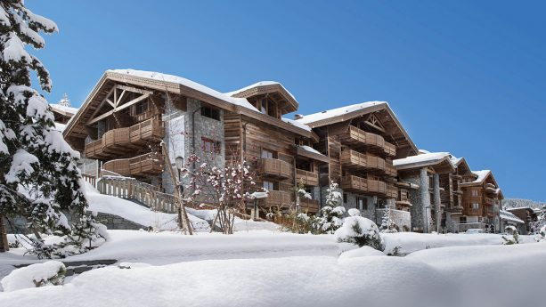 Six Senses Residences Courchevel Exterior